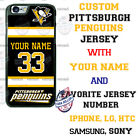 PITTSBURGH PENGUINS HOCKEY JERSEY PHONE CASE COVER FOR iPHONE SAMSUNG LG GOOGLE $18.98 USD on eBay