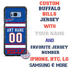 BUFFALO BILLS FOOTBALL WITH NAME & No. PHONE CASE COVER FOR iPHONE SAMSUNG etc $26.98 USD on eBay