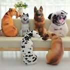 3D Realistic Dogs Soft Seat Sofa Pillow Cushion Lifelike Animals Spotty Dog