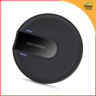 Chargeur sans Fil Rapide Qi Induction Fast Wireless Charger Iphone Samsung Noir