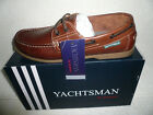 Kyпить MENS DECK BOAT SHOES YACHTSMAN BROWN  REAL LEATHER SIZES 7-12 UK на еВаy.соm