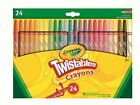 Crayola Crayons - Easy-Grip, Twistables, Large, Jumbo or Washable - 8, 12 or 24