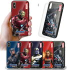 Avengers Endgame Glass Case for Apple iPhone XS Max/ XR XS X/ 8 8 Plus/ 7 7 Plus