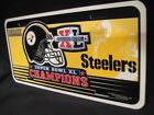 New Pittsburgh Steelers Super Bowl XL License Plate