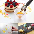1x Chocolate Fondant Cake Cookie Decorating Icing Piping Writing Pen Spoon L