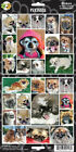 DOG PUPPY STICKERS LOTS OF BREEDS, PUGS, SPANIEL,VIZSLA,CORGI MANY MORE NEW