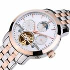 Rose Gold Men's watch Relogio Masculino 2019 Tourbillon Automatic Mechanical image