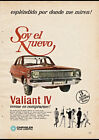1966 VALIANT IV (ARGENTINA) AD ART PRINT POSTER $15.75 USD on eBay