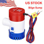 1100+GPH+12V+Marine+Boat+Bilge+Water+Pump+Submersible+for+Yacht+RV+SPA+Pool+US