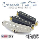Strat Pickup Set for Stratocaster Guitar - Hand Wound ALNICO 5 2