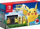 Nintendo Switch Pikachu & Eevee Edition with Pokmon: Let's Go, Pikachu! +