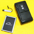 3520mAh Extended Slim Battery or Charger for Boost Mobile LG Volt 2 LS751 Phone