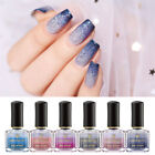 BORN PRETTY 6ml Thermal Nail Polish 3 Layers Glitter Holographic Nail Varnish
