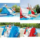 Outdoor Inflatable Splash Water Slide For Swimming Pool Kids Play Center Ages 6+