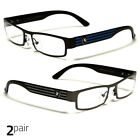 Small Women Clear Lens Square Rx Sunglasses Bla Silver Eyeglasses Blue Gunmetal
