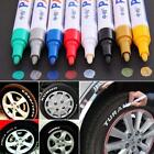 12 Colours Classy Car Tyre Tire Tread Rubber Metal Permanent Paint Marker Pen ZH