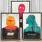 STAR WARS POSTERS - A3 A4 size Quality Movie Print Vintage Style OLLY MOSS £4.99 GBP on eBay