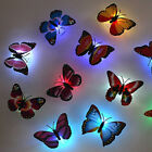 10pcs 3d Butterfly Led Wall Stickers Lights Home Diy Family Art Home Decoration