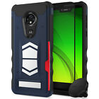 Moto g7 Supra / g7 Power case, Zizo Electro Series with Magnetic Air Vent Holder