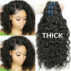 Water Wave Bundle Human Hair Weave Weft 1/3 Bundle Wet and Wavy Curly Human Hair