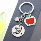 Personalised Key Chains Teacher Gifts School Thank You Presents Apple Keychains