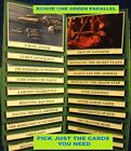 2016 Topps Star Wars Rouge 1 Mission Brief GREEN Parallel Cards YOU PICK-1 image