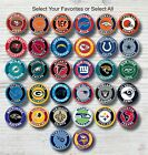 "NFL Buttons 1.25"" Hat Jersey T-Shirt Pins Cowboys Steelers Saints Chiefs Eagles $1.74 USD on eBay"