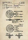 Patent Print - Star Trek / USS Enterprise - Vintage Poster Wall Art A4 on eBay