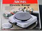 AROMA ELECTRIC RANGE SINGLE BURNER Hot plate stainless steel HOME OFFICE DORM