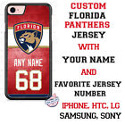 FLORIDA PANTHERS HOCKEY PHONE CASE COVER NAME & # FOR iPHONE SAMSUNG LG GOOGLE $22.98 USD on eBay