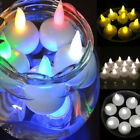 Waterproof LED Floating Tea Light Flameless Candles Tealight Wedding Party CA