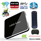 H96 Max X2 Android 8.1 4K HD Smart TV Box S905X2 Quad Core WIFI BT +i8 Keyboard