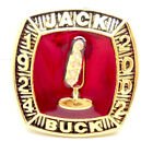 1924 2002 Jack Buck Microphone sport hall of fame ring US size 11