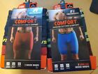Russell Mens Comfort Performance Long Leg Boxer Briefs 2-pack XL(40-42) NWT