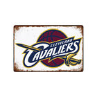 Cleveland Cavaliers Tin Metal Sign Rustic Advertising Wall Art decor on eBay