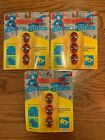 Lot of 3 NIP Marvel Super Heroes Spiderman Button Biters Covers 1991 Brookside
