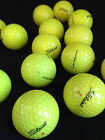 Titleist DT Trusoft White and Yellow Used Golf Balls.......Free Shipping!