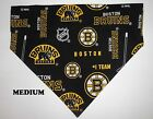Boston Bruins NHL Hockey Over Collar Slide On Pet Dog Cat Bandana Scarf $6.50 USD on eBay