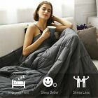 "20/15LBs Weighted Blankets 60x80"" Twin/Full/Queen Weighted Sensory Blanket Adult image"