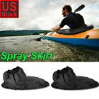 Universal Full Adjustable Kayak Spray Skirt Nylon Deck Sprayskirt Cover USA