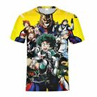 My Hero Academia Kid T-shirt Boy Game Character Print Graphic Short Sleeve Tops