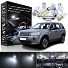 20x 6K white for Land Rover Freelander 2 LED Bulbs Interior Light Kit (06-2013)