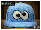 Rare New Era Japan 59FIFTY Fitted Sesame Street Cookie Monster Fur