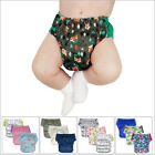 3-Pack Hybrid Cloth Swim Diaper Potty Training Pants, Newborn Baby to 10 Years image