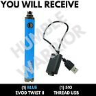 1x EVOD3 TWIST2 1600 mAh Pen Battery - Variable Volt - 510 USA <br/> FREE SHIPPING 🔥 VAPE1PEN 🔥  SEE STORE FOR MORE🔥