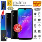 New  Sealed Factory Unlocked REALME 3 Blue Black Dual SIM 32GB Android Phone