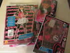 New Rubie's Monster High Dracularua Costume, Beauty Set & Wig Size M 8-10