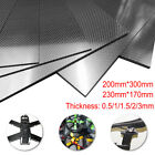 100% Carbon Fiber Plate Panel Sheet 3K  Glossy Matte Surface 0.5-3mm