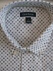 NWT 4950 Mens Club Room Short Sleeve Button Front Shirt Size Large