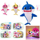 Baby Shark Plush LED Plush Toys Music Doll Sing English Song Baby's Kids's Gift